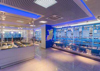 Информационно-выставочный центр ООО «Газпром трансгаз Чайковский»