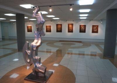 Выставочное пространство АО «Волжский трубный завод»