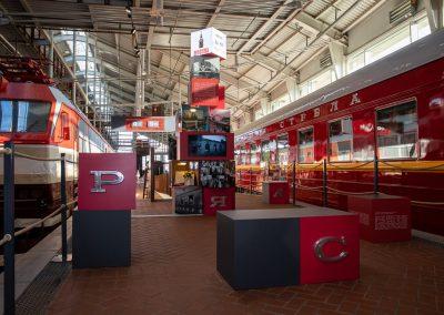 В Музее железных дорог России начал работу выставочный проект «Поезд № 1»